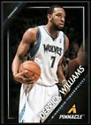 Derrick Williams Signs with Panini 9