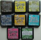 LOT OF 8 Tim Holtz Distress Ranger Ink Pads VARIOUS COLORS Sealed Brand NEW