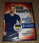 Bob Harper Totally Ripped Core NEW DVD 2 Cutting Edge Workouts
