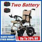 Electric Lightweight Folding Motorized Power Wheelchair Medical Mobility Aid