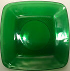 Anchor Hocking Charm Forest Green Dinner Plate Keys And Change Dish Trinkets