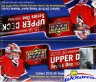 2015 16 UD Series 1 Hockey Factory Sealed 24 Pack Retail Box-6 Young Guns+Jersey
