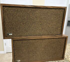 The Fisher XP-55B 19560's Vintage Wood  Hi-Fi Speakers System Tested