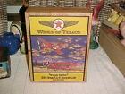 Wings of Texaco Diecast Metal Airplane Bank 1929 Buhl CA-6 NIB