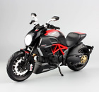 DIY Maisto 1:12 Ducati DIAVEL Carbon Assembly MOTORBIKE Motorcycle Kit Model Toy