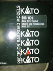 N Scale KATO 106 023 New York Central SMOOTH SIDE PASSENGER CAR SET