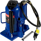 Air Hydraulic Bottle Jack 20 Ton Manual 44092lb Heavy Duty Auto Truck RV Repair