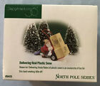 NEW DEPT 56 North Pole Village elf accessory 56435 Delivering Real Plastic Snow