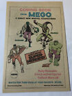 1974 Mego toys ad page MARVEL CHARACTERS LizardGreen GoblinFalconHulk