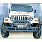 New For Jeep Cj Wrangler Yj Tj 76 06 Front Tube Bumper W Cut Out X 1156103