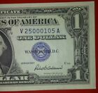 1957 1 DOLLAR BILL SILVER CERTIFICATE BLUE SEAL NOTE CURRENCY PAPER MONEY