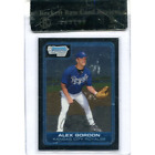 Alex Gordon Rookie and Prospect Card Guide 54