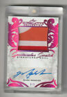 2019 20 MARK MESSIER ERIC LINDROS LEAF SUPERLATIVE AUTO DUAL PATCH #3 9 NICE