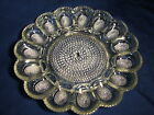Awesome Large Indiana Glass Hobnail Deviled Egg Serving Plate