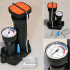 MOTO Air Pump Pedal Wheel Tires Cycling Straddling Pressure gauge Inflator Tool
