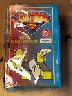 1996 Skybox DC Comics Superman Collectable Stickers sealed Box of 100 Packs