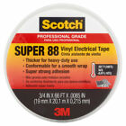 3M 6143 Scotch Vinyl Plastic 3 4 X 66 Electrical Tape Super 88