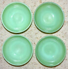 4 VINTAGE FIRE KING JADEITE CEREAL, CHILI SOUP BOWL, EXCELLENT, CLEAN, SHINY