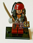 GENUINE LEGO POTC PIRATES OF THE CARIBBEAN JACK SPARROW  MINIFIGURE VGUC 4184