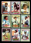 1980 TOPPS FOOTBALL PARTIAL SET 400 528 MINT *INV6208