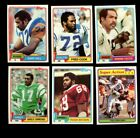 1981 TOPPS FOOTBALL PARTIAL SET 400 528 MINT *INV6196