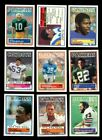 1983 TOPPS FOOTBALL PARTIAL SET 275 396 MINT *INV6194