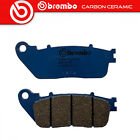 Brake Pads Brembo Carbon Ceramic Rear Hyosung GV 650 Efi 2007>2012