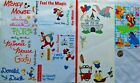 lot DISNEY Stickers theme park Mickey Mouse Dumbo Goofy Winnie Pooh INCOMPLETE