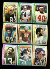 1978 TOPPS FOOTBALL NEAR COMPLETE SET 375 528 MINT *INV6362