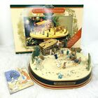 Mr Christmas Bethlehem Animated Nativity Set Moving Box Musical AC Supply Book