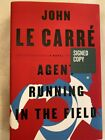 Agent Running in the Field by John Le Carre Signed 1st USA Brand New Hardcover