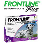 Frontline Plus for Large Dog45 88 lbsFlea and Tick Treatment 3 Doses Sealed