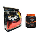 Optimum Gold Standard WHEY PROTEIN 6 lb + Performix ION - FREE Pre Workout BOGO