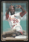 Lou Brock 1993 Action Packed Amoco/Coke Insert Card