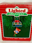 Lighted Ornament Chris Mous Glow, 1987;  NIB; Lights with your tree lights!