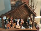 Kirkland Signature Porcelain 13 pc Nativity Set Hand Painted From Costco