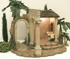 FONTANINI ITALY 5 RETIRED 1999 CENSUS BUILDING NATIVITY VILLAGE 50218 GC NOBX