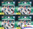 (4) 2019 Topps Baseball Stickers MASSIVE Factory Sealed 50 Pack Box-800 Stickers
