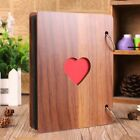 Wooden DIY Photo Album Our Adventure Book Memory Anniversary Scrapbook Travel