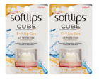 2 PACK :: Softlips Cube :: Lip Protectant Sunscreen :: Vanilla Bean :: EXP 2018
