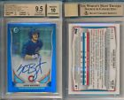 Kris Bryant 2014 Bowman Chrome BLUE REFRACTOR Rookie Card Rc BGS 9.5 Auto 10