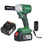 128v 16000mah Electric Cordless Impact Wrench Brushless Driver Tool