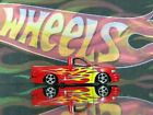 Hot Wheels 2003 ford F 150 Lightning Red Supercharged V 8 with flames