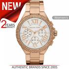 Michael Kors Camille Ladies Watch MK5636|Chronograph Dial|Stainless Rose Strap