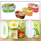Microwave Bento Lunch Box Picnic Fruit Container Storage Box For Kids Adult Food