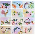 Sustainable Greetings Blank Hummingbird Note Cards with Envelopes 48 Pack
