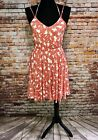 Rachel Pally NWT L Apricot Bonsai Floral Dream Dress Print Sundress Halter