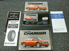 2006 Dodge Charger Sedan Owner Owner's Manual User Guide RT SRT8