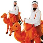Step In Camel Costume Deluxe Animal Fancy Dress Nativity Outfit New Adults