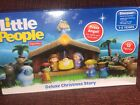 Fisher Price Little People A Christmas Story Nativity Deluxe Toy Set